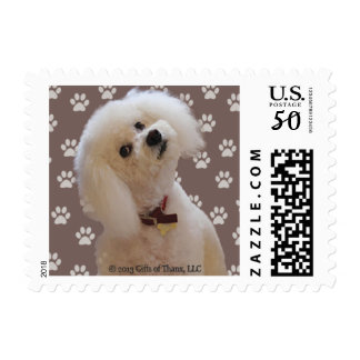Bichon, various rates - 20 SMALL Postage Stamps