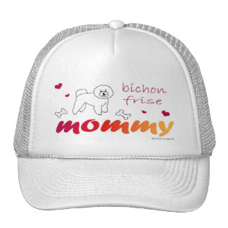 BichonFriseMommy Trucker Hat