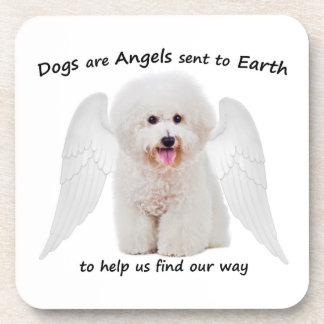 Bichons are Angels Coaster Set