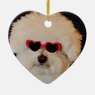 Bichons are Angels Ornament