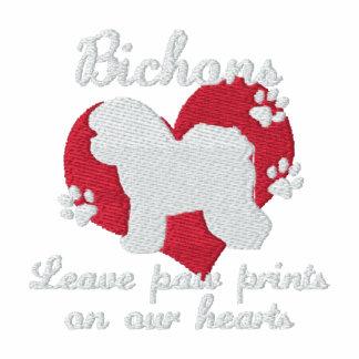 Bichons Leave Paw Prints