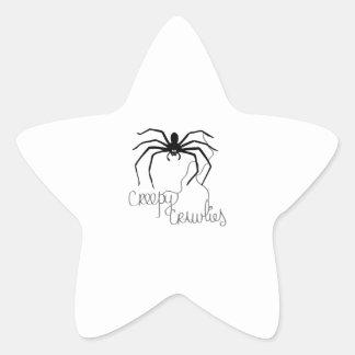 Bichos Pegatina En Forma De Estrella