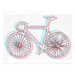 bici 3Dish Tarjetas Postales