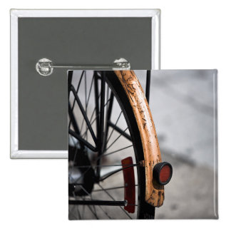 Bici aherrumbrada de ciclo que monta en bicicleta pins