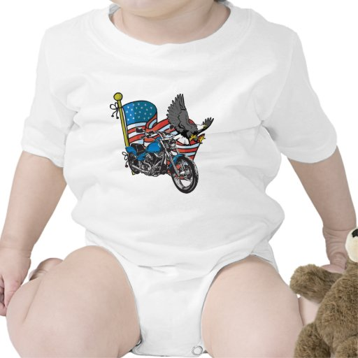 Bici americana Eagle Camiseta