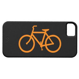 Bici anaranjada iPhone 5 Case-Mate carcasas