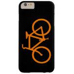 Bici anaranjada funda para iPhone 6 plus barely there