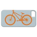 Bici anaranjada iPhone 5 cárcasas