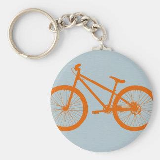 Bici anaranjada llavero
