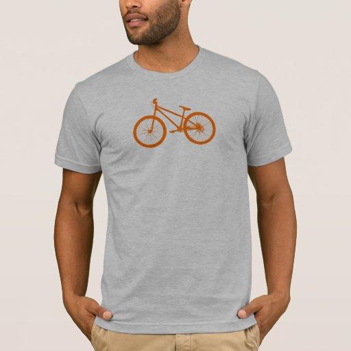 Bici anaranjada playera