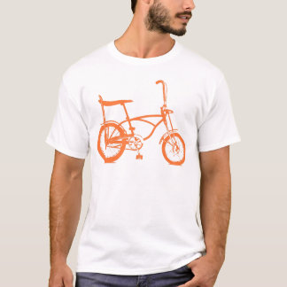 Bici anaranjada retra de Seat del plátano de Krate Playera