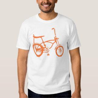 Bici anaranjada retra de Seat del plátano de Krate Poleras