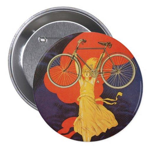 Bici antigua de las bicicletas de Peugeot del vint Pin Redondo 7 Cm