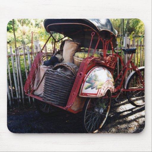 bici asiática alfombrillas de ratón