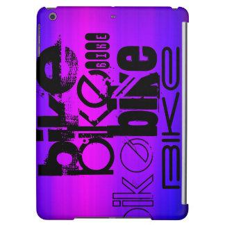 Bici; Azul violeta y magenta vibrantes