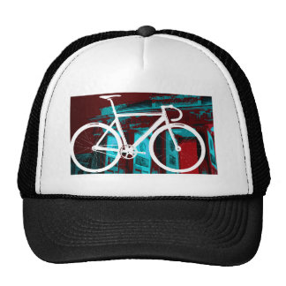 Bici Berlín - azul rojo de la pista Gorro