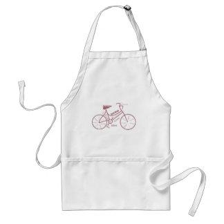 Bici, bicicleta, ciclo, deporte, el Biking, de mot Delantal