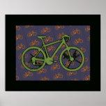 bici. bicis. ciclo impresiones