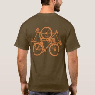 bici Biking del ciclo que monta en bicicleta Playera