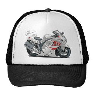 Bici Blanco-Roja de Hayabusa Gorra
