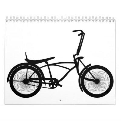 bici calendario de pared