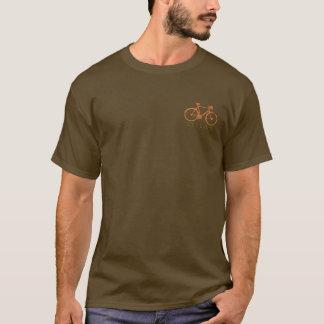 bici-camiseta que completa un ciclo T Playera
