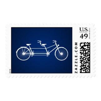 Bici caprichosa del doble de 20 azules marinos de sellos
