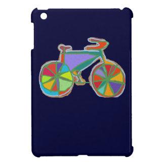 bici colorida hermosa del arte