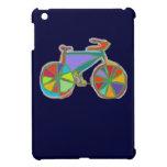 bici colorida hermosa del arte iPad mini cárcasas