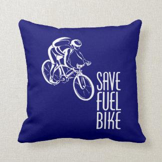 Bici, combustible de la reserva cojin