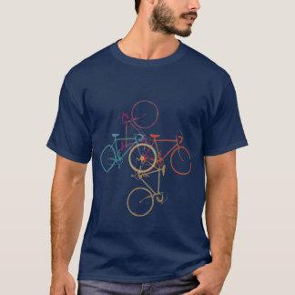 Bici - completando un ciclo - el biking playera