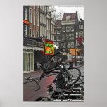 Bici cuadrada de Amsterdam - de Rembrandt Impresiones