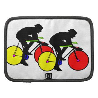 Bici de ciclo coloreada multi organizador