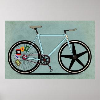 Bici de Fixie Poster