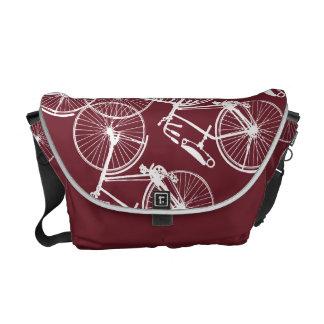Bici de la bicicleta bolsa messenger