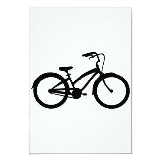 Bici de la bicicleta invitación 8,9 x 12,7 cm