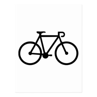 Bici de la bicicleta postales