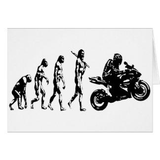 bici de la evolución felicitación
