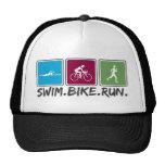 bici de la nadada funcionada con (triathlon) gorras