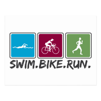 bici de la nadada funcionada con (triathlon) postal