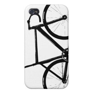 Bici de la pista iPhone 4 carcasas