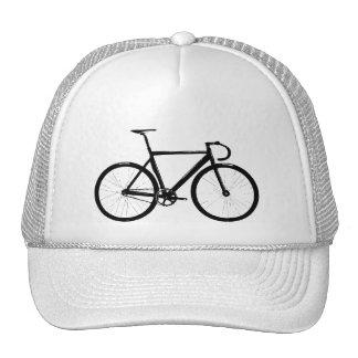Bici de la pista gorros bordados