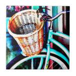 Bici de la playa por J.Gaston Azulejos Cerámicos