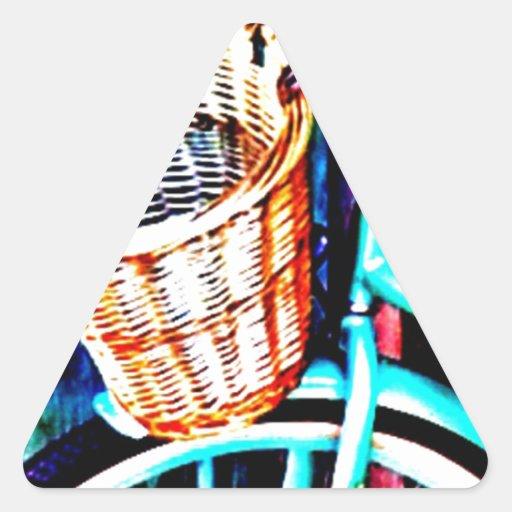 Bici de la playa por J.Gaston Colcomanias Trianguladas Personalizadas