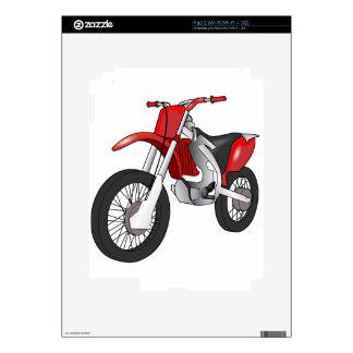 Bici de la suciedad calcomanías para el iPad 2