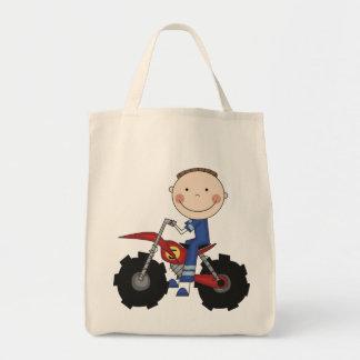 Bici de la suciedad - camisetas y regalos del much bolsa tela para la compra