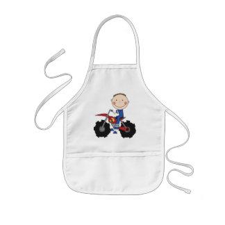 Bici de la suciedad - camisetas y regalos del much delantales