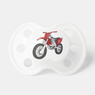 Bici de la suciedad chupetes para bebés