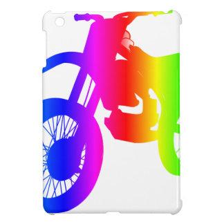 Bici de la suciedad del arco iris