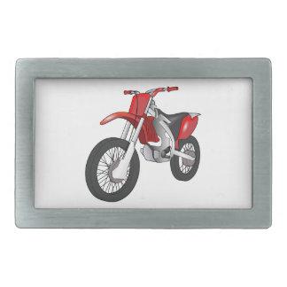 Bici de la suciedad hebilla cinturon rectangular
